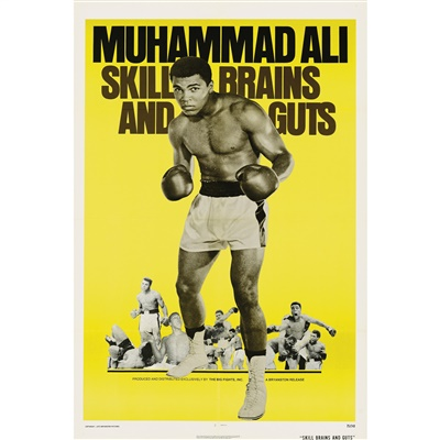 Lot 583-SKILL, BRAINS AND GUTS / MUHAMMAD ALI