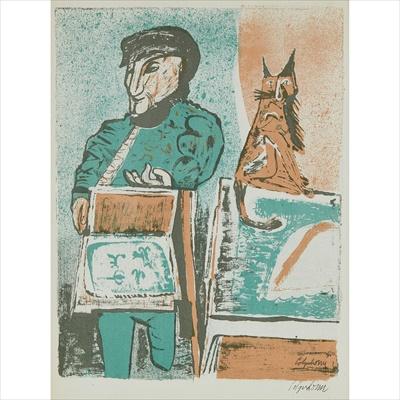Lot 30 - Robert Colquhoun (Scottish 1914-1962)