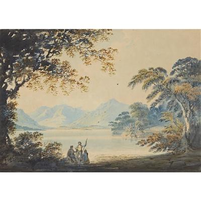 Lot 31-FRANCIS NICHOLSON O.W.S. (BRITISH 1753-1844)