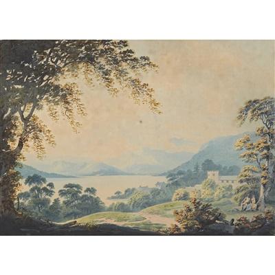 Lot 30-FRANCIS NICHOLSON O.W.S. (BRITISH 1753-1844)