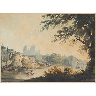 Lot 33-FRANCIS NICHOLSON O.W.S. (BRITISH 1753-1844)