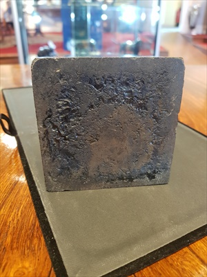 Lot 8-BASALT AND MARBLE WATERLOO MONUMENT MODEL