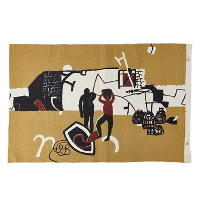 Lot 129-Keith Vaughan (British 1912-1977) for Edinburgh Weavers