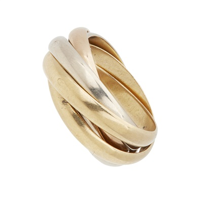 Lot 71 - A five-band ring, Cartier