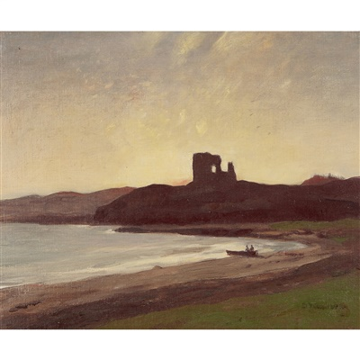 Lot 81 - Sir David Young Cameron R.A., R.S.A., R.W.S., R.S.W., R.E. (Scottish 1865-1945)