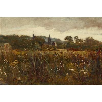 Lot 83 - Edward Atkinson Hornel (Scottish 1864-1933)
