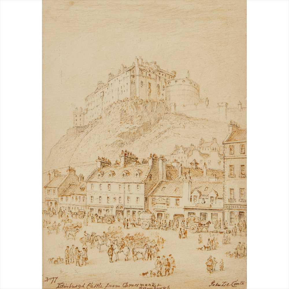 Lot 86 - JOHN LE CONTE (SCOTTISH 1816-1877)