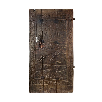 Lot 55 - SANTHAL DOOR