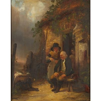Lot 48 - WILLIAM SHAYER THE ELDER (BRITISH 1799-1879)