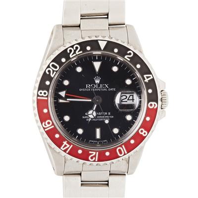 Lot 322 - A gentleman's stainless steel wrist watch, Rolex
