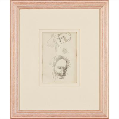 Lot 33 - JOHN DUNCAN FERGUSSON R.B.A. (SCOTTISH 1874-1961)