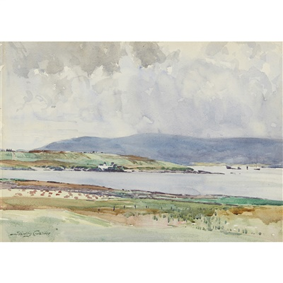Lot 14-Stanley Cursiter C.B.E., R.S.A., R.S.A (Scottish 1887-1976)