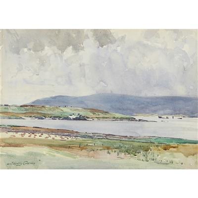 Lot 14 - Stanley Cursiter C.B.E., R.S.A., R.S.A (Scottish 1887-1976)