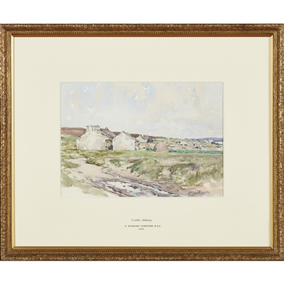 Lot 16-Stanley Cursiter C.B.E., R.S.A., R.S.A (Scottish 1887-1976)