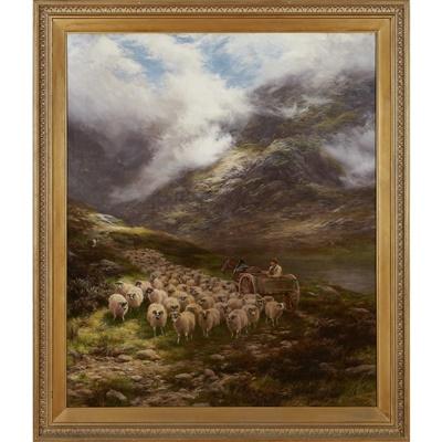 Lot 37-Peter Graham R.A., H.R.S.A (Scottish 1836-1921)