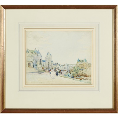 Lot 51-Robert McGown Coventry A.R.S.A., R.S.A (Scottish 1855-1914)