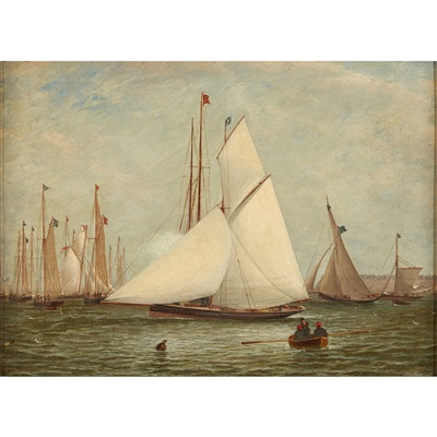 Lot 24-William Clark (SCOTTISH 1803–1883)