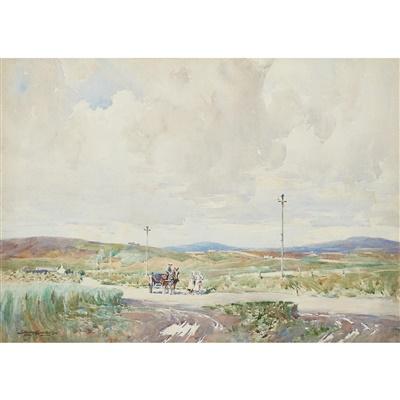 Lot 72 - Stanley Cursiter C.B.E., R.S.A., R.S.A (Scottish 1887-1976)
