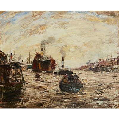 Lot 57-James Kay R.S.A., R.S.W. (Scottish 1858-1942)