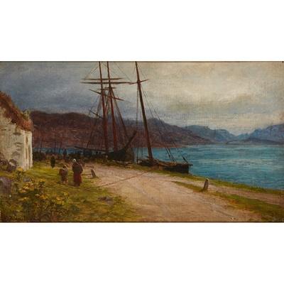 Lot 46-JOSEPH FARQUHARSON R.A. (SCOTTISH 1846-1935)