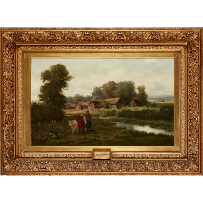 Lot 21-DAVID FARQUHARSON A.R.A., A.R.S.A., R.S.W., R.O.I. (SCOTTISH 1840-1907)