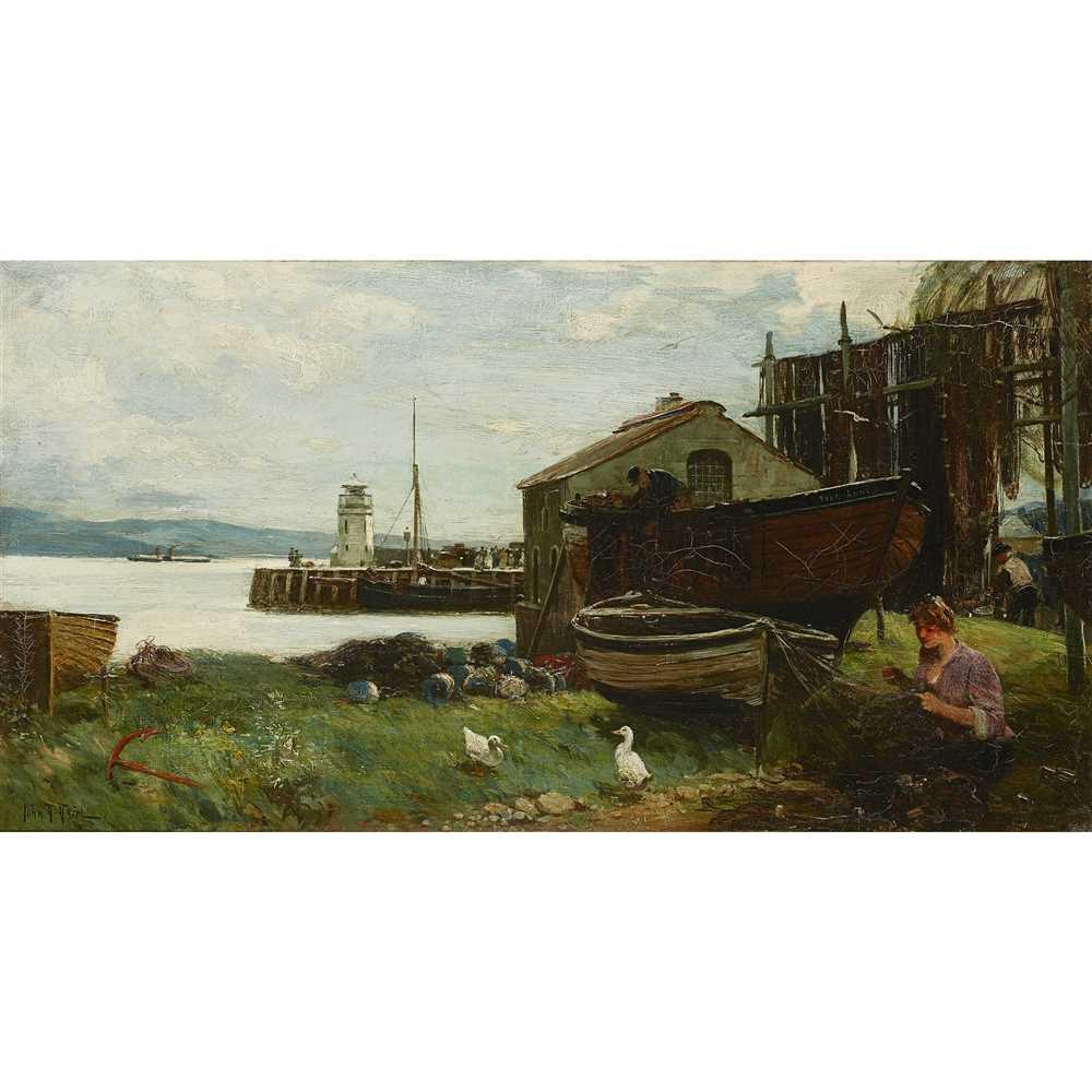 Lot 42-John Robertson Reid R.I., R.B.S., R.O.I. (1851-1926)