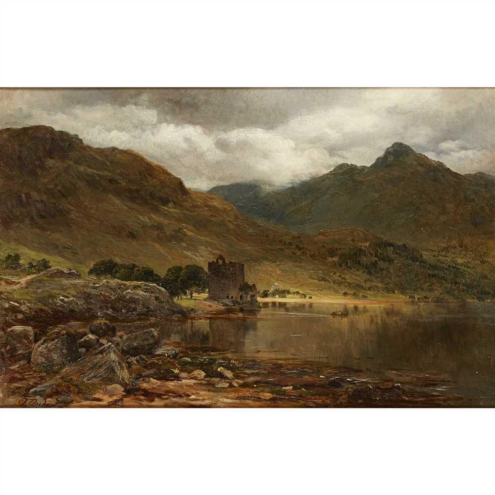 Lot 39-James Docharty A.R.S.A (Scottish 1829-1878)