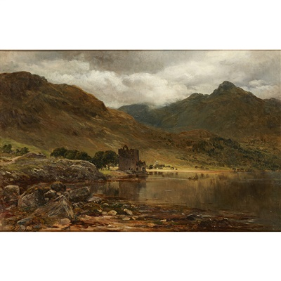Lot 39-James Docharty A.R.S.A (Scottish 1829-1878)