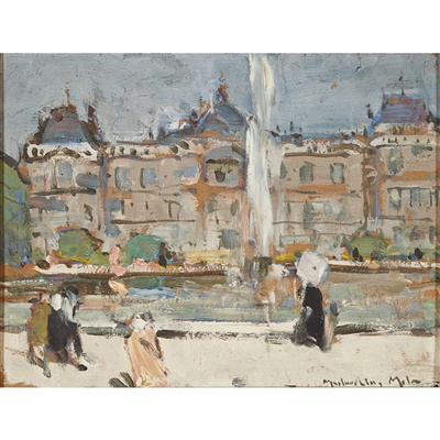 Lot 98 - John MacLauchlan Milne R.S.A (Scottish 1886-1957)