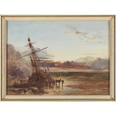 Lot 30-Sam Bough R.S.A, R.S.W. (Scottish 1822-1878)