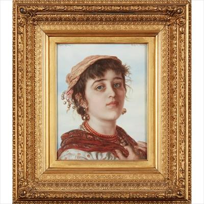 Lot 95 - ADRIANO BONIFAZI (ITALIAN 1858-1914)