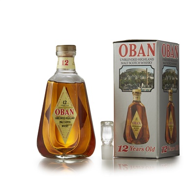 Lot 1-OBAN 12 YEAR OLD (1980S)