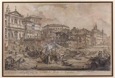 Lot 7 - PIRANESE [Giovanni Battista] Veduta del Porto...