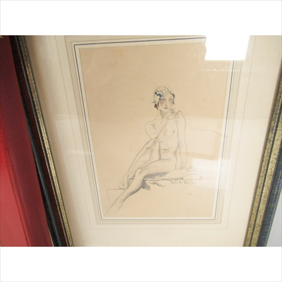 Lot 8-Flint, Sir William Russell [with Original Drawing]