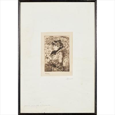 Lot 73 - EDOUARD MANET (FRENCH 1832-1883)