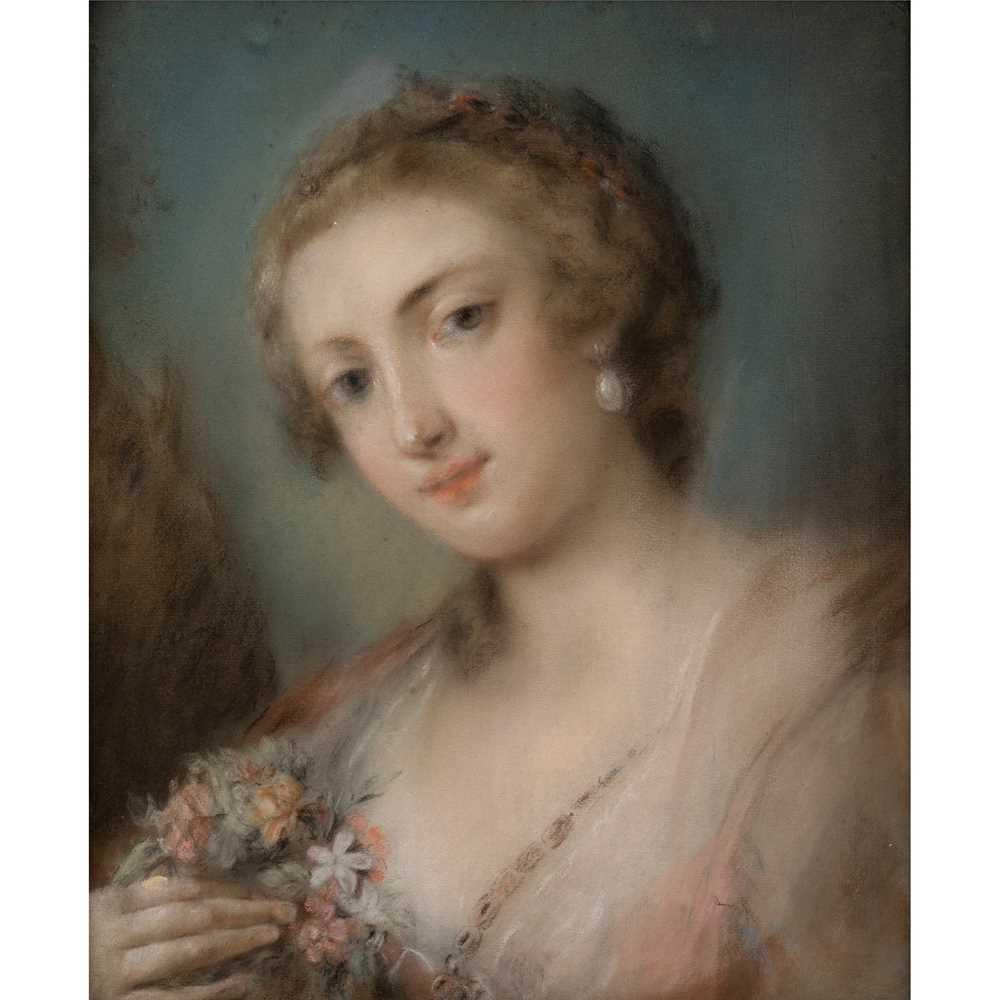 Lot 6 - CIRCLE OF ROSALBA CARRIERA (VENETIAN 1673-1757)