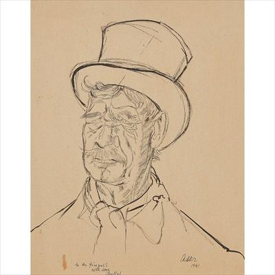 Lot 60 - Jankel Adler (Polish 1895-1949)
