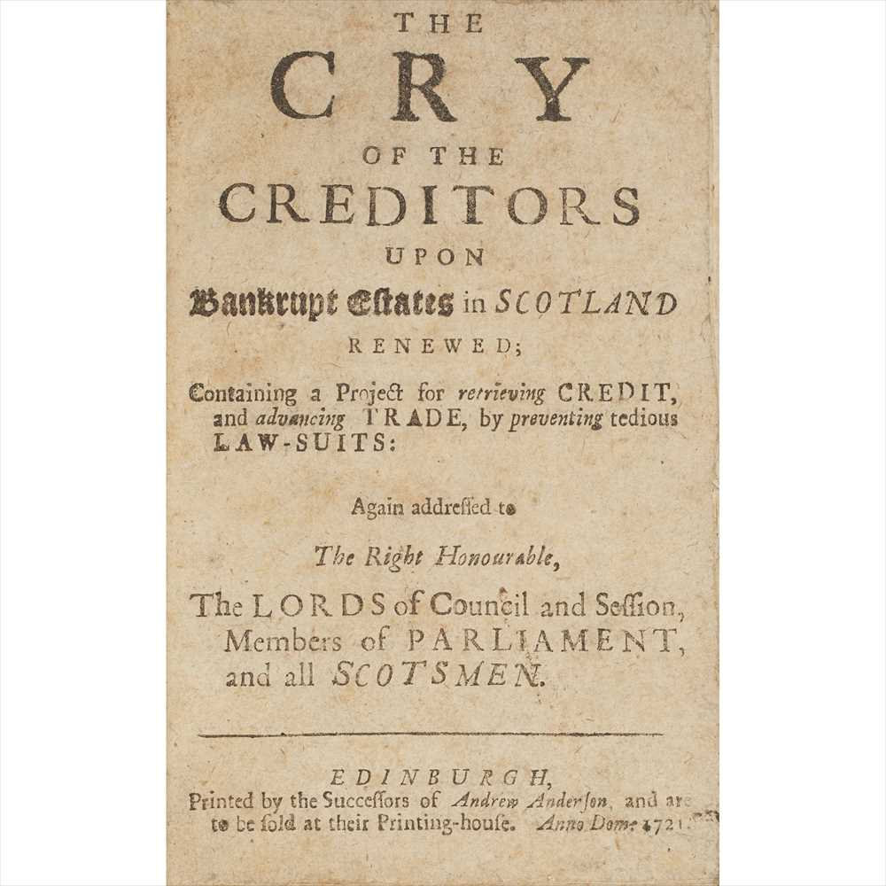 Lot 79 - Jacobite interest, and other Scottish affairs