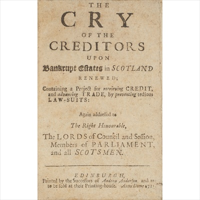 Lot 79-Jacobite interest, and other Scottish affairs