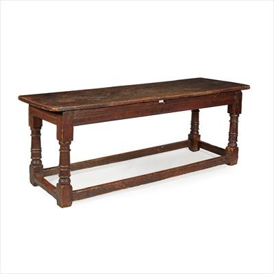 Lot 29-OAK REFECTORY TABLE