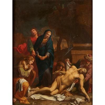 Lot 10-EUSTACHE LE SUEUR (FRENCH 1617-1655)
