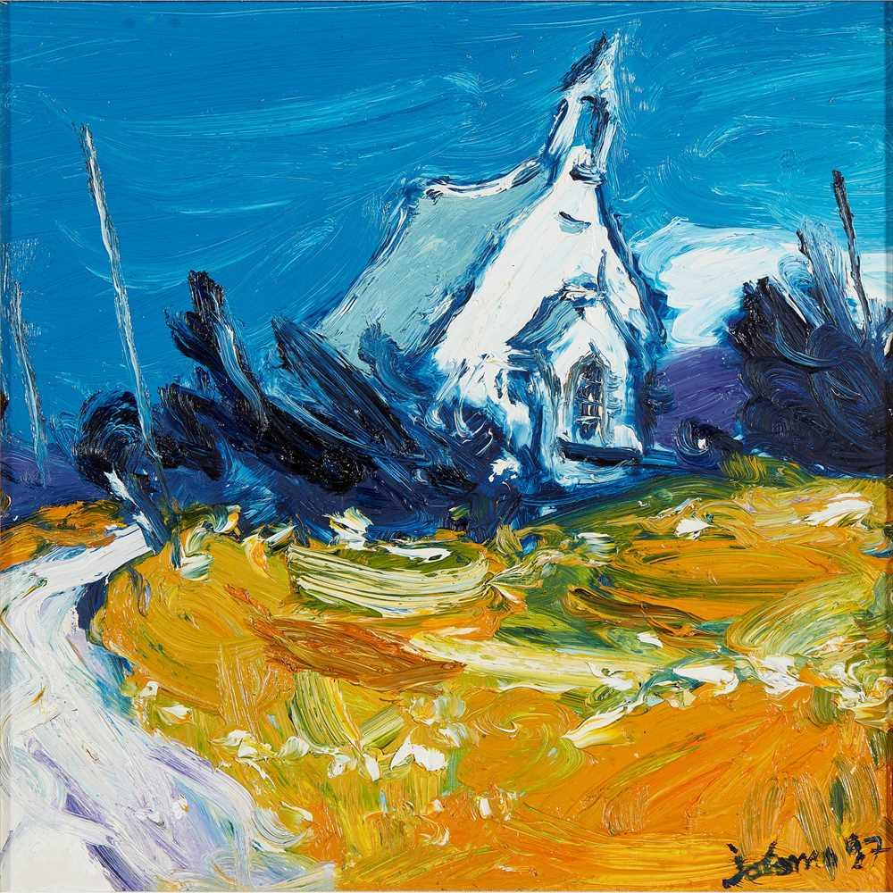 Lot 13-JOHN LOWRIE MORRISON (JOLOMO) O.B.E. (SCOTTISH B.1948)