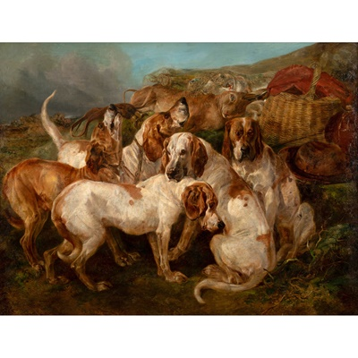 Lot 82 - HENRY WEEKES R.A. (BRITISH 1807-1877)