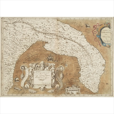 Lot 29-Six hand-coloured maps of Southern Italy, The Black Sea and Europe, including