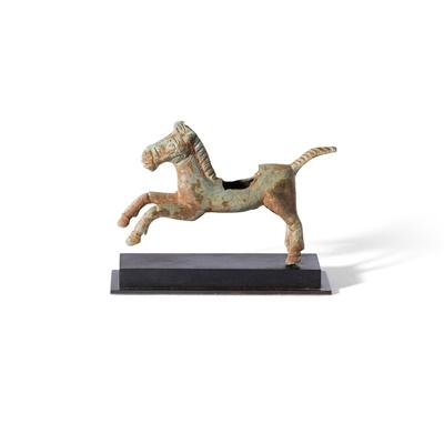 Lot 93 - ROMAN BRONZE HORSE