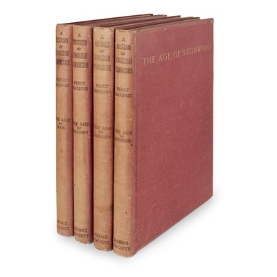 Lot 53 - MACQUOID (PERCY) A History of English Furniture, 4 vol.