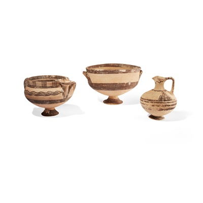 Lot 84 - GROUP OF CYPRIOT VESSELS