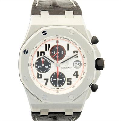 Lot 146 - A gentleman's stainless-steel cased chronograph Audemars Piguet