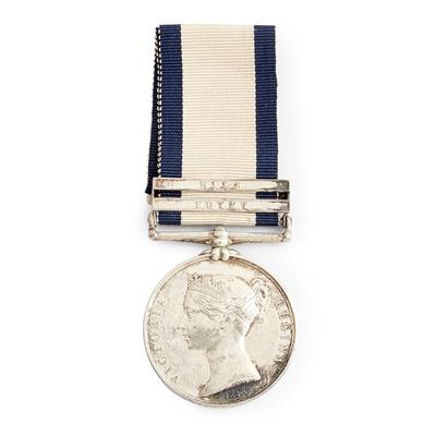 Lot 221 - A Victorian Naval General Service medal