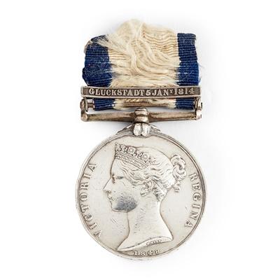 Lot 204 - A Victorian Naval General Service medal